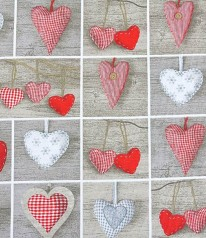 CANVAS DRUCK Lovely Hearts