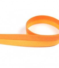 SCHRÄGBAND Two Tone Mandarine Orange 20 mm