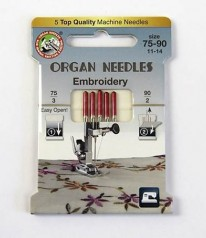 NÄHMASCHINEN NADELN Organ Needles Embroidery 75-90