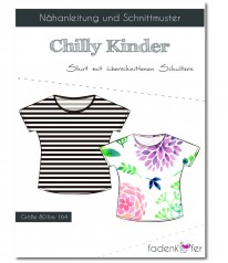 SCHNITTMUSTER Fadenkäfer Chilly Shirt Kids