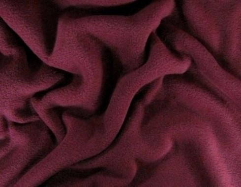 FLEECE-ANTIPILLING - Bordeaux