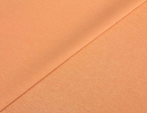 SOMMERSWEAT FRENCH TERRY Uni - Pastell Orange