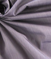 HEMDENSTOFF BAUMWOLLE Stretch Melange/Purple