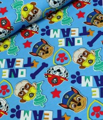 JERSEY PAW PATROL ‭Marshall Chase Rubble - Patches HELLBLAU