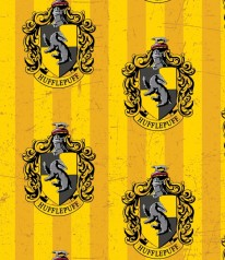 HARRY POTTER * HUFFLEPUFF Hauswappen School Crest