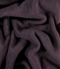 FLEECE-ANTIPILLING - Aubergine