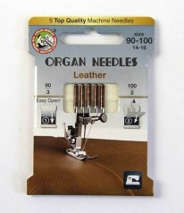 NÄHMASCHINEN NADELN Organ Needles Leder 90-100