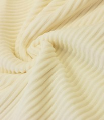 JERSEY grober Rippjersey Softtouch CREME